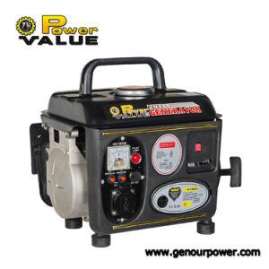 400W e 750W Super Powervalue 950 Gasolina conjunto gerador de uso doméstico portátil com marcação e Soncap