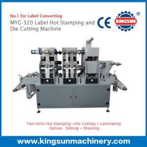 MYG-320 Máquina de Estampado y Troquelado para Etiquetas Papel