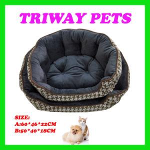 Elevado conforto e Quaulity Cama de cães e gatos (WY1610106-2A/B)