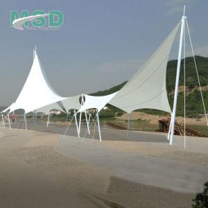 850GSM de Afbaardende Stof van pvc voor de Tent van de Rek