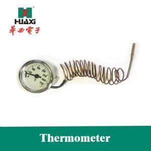El uso industrial o en el horno Termómetro Bolied capilar