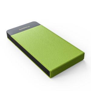 Venta caliente rápido automático cargador de teléfono inalámbrico teléfono/soporte/Banco de potencia con la función de soporte del teléfono para el iPhone