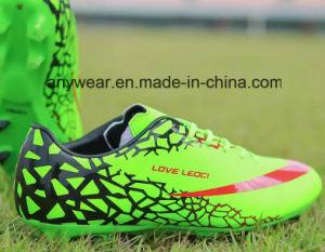 Nuevo Diseño Exterior botas zapatos de fútbol de los hombres (368)