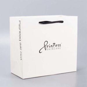 Оптовая торговля мода пользовательские магазинов упаковки бумажных мешков для пыли сделать вручную