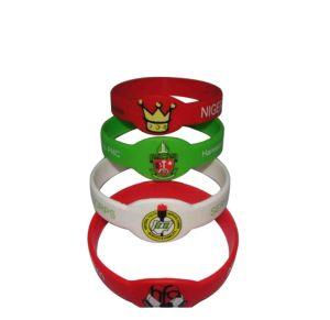 子供のギフトクリスマス(042)のためのカスタムかわいいPVCシリコーンのリスト・ストラップ