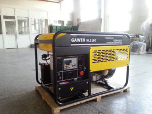 Erstklassiges Benzin-Generator-Set der Qualitäts10kva durch Kholer Engine