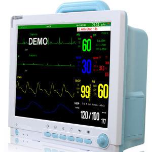 Portátil de 12,1 polegadas 6 parâmetros de sinais vitais na UTI do Hospital de equipamento médico de preço do Monitor de pacientes
