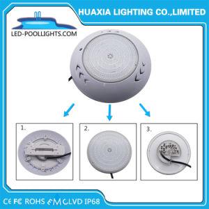 Marcação RoHS IP68 FCC 12V Piscina LED Lâmpada Luz subaquática