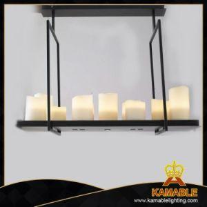 Morden Metal candeeiros pendurados decorativos de resina&(MD30206-15+2)