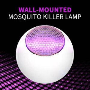 A las plagas voladoras Mosquito Killer asesino de insectos Lámpara cama exterior interior Zapper cama Electrónica de la trampa de Bug Bug Killer con luz de noche