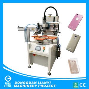 Stampante rotativa della matrice per serigrafia per il coperchio del telefono mobile