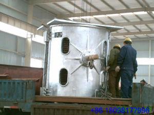 Forno di fusione di fusione della strumentazione con le coperture di alluminio per l'ottone d'acciaio del rame del metallo (GW-5T)