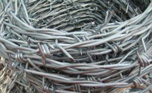 4 antiruggine - Indicare il filo, la galvanostegia 50g/m2 della prigione di collegare pungente del ferro