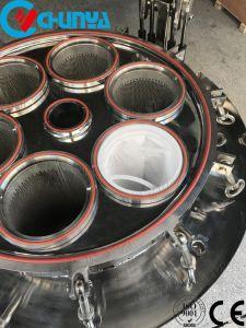 Edelstahl-flüssiges multi Beutelfilter-Gehäuse für Wasser-Filtration-System