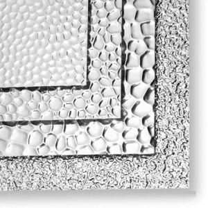 1050/1060/1100/3003 di strato di alluminio impresso stucco per il congelatore