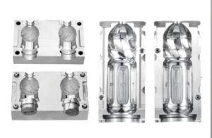 Molde de sopro de plástico PET garrafa de água para bebidas disponíveis personalizada