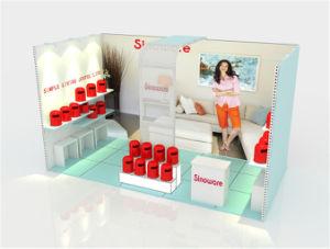 La mostra su ordinazione della fiera commerciale si leva in piedi la cabina 20X20FT di mostra