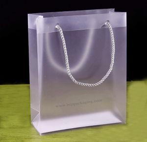 Borsa impaccante su ordinazione, sacchetto di plastica dei pp stampato regalo promozionale