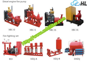 Xbc-D Diesel Motor Diesel de alta presión de la cabeza de la bomba de agua contra incendios