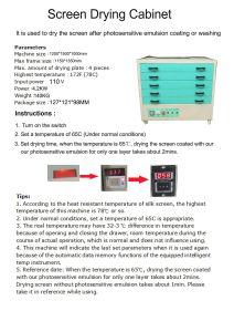 5 Schichten Bildschirm-Drucken Diying Ofen-Schrank-