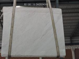 Volakas weiße Marmorfliesen für Wand und Bodenbelag