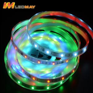 Indicatore luminoso di striscia della flessione del tubo Ws2811 RGB LED del silicone