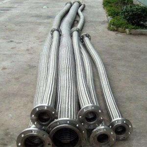 Tubo flessibile ondulato anulare del metallo flessibile dell'acciaio inossidabile Dn12-Dn600