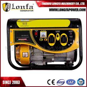 5.5HP Luft abgekühltes 2kVA 2kw 2000 Watt-Benzin-Generator (manuell)