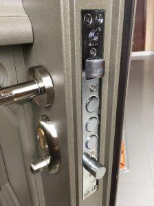 Nouveau design en aluminium américain en verre trempé de pivotement de la porte de sécurité