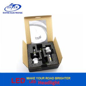 72W 8000LM Coche LED lámpara H4 Hi/Lo S2 Faro LED H1 H3 H16 H11 9005 alquiler de la bombilla del faro con Bridgelux COB fichas