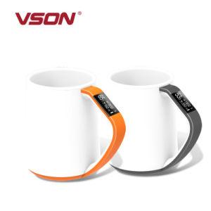 Élégant de haute qualité de belles tasses de café Bluetooth Smart céramique