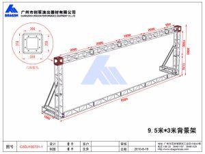 Vigas del techo de aluminio de la armadura de la etapa de la armadura de la triangular (BT30).