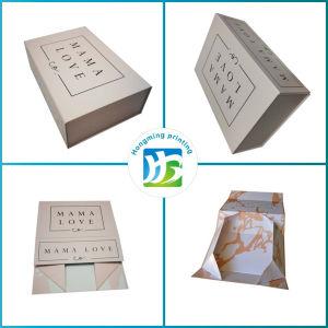 El papel impreso personalizado plegables de cartón Caja de regalo