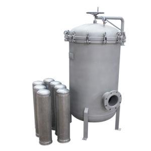 Bolsa de acero inoxidable de la caja del filtro de agua de filtración de líquidos Purifcation 0.5um