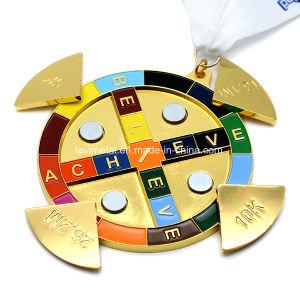 도매 관례 10k 인종 시리즈 실행 스포츠 메달
