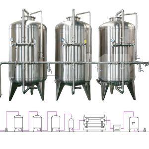 Glasplastikflaschen-Aroma-Wasser-füllender Produktionszweig