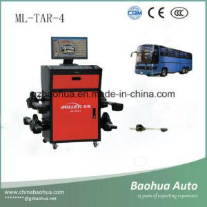 トラックの車輪アライナまたはバスホイール・アラインメントシステム