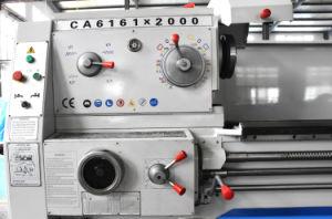 Orientée tête6161 tour manuel CA CA6261 tour métallique pour vendre le métal Lathe 750mm