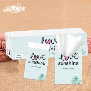 3ply de Witte Weefsels van uitstekende kwaliteit van de Zakdoek van de GezichtsWeefsels van het Pak van de Zak
