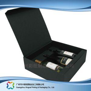 عادة رفاهيّة صلبة ورقيّة يعبّئ هبة/طعام/خمر صندوق ([إكسك-هب-001])