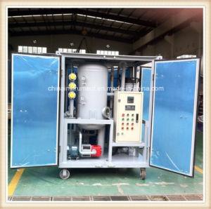 1800L/H 75kv de alto vacío de la máquina de purificación de aceite usado aceite del transformador, de pequeño tamaño, purificador de aceite de transformadores
