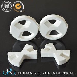 Disco de cerâmica de alumina branco para uma torneira com polimento na superfície