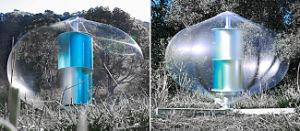 세륨을%s 가진 고속 달리기 400W 수직 바람 터빈 발전기