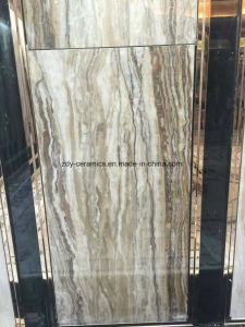 フォーシャンのよいデザイン完全なボディ大理石の石の床の磁器のタイル