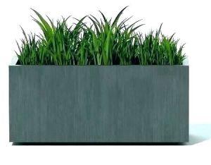 Le métal Pot de fleur-semoir/Fleur plante le décor pour la maison/jardin Planter Box