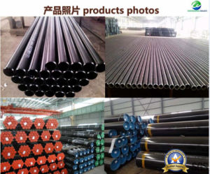 API 5СТ бесшовных стальных трубопроводов с J55 K55 N80 L80 N80q P110 Кожух трубки