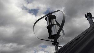 セリウムが付いている高速実行400Wの縦の風力発電機