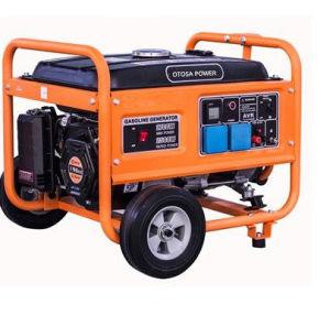 5kVAガソリン/Petrolの携帯用発電機空気によって冷却されるエンジン小さい力
