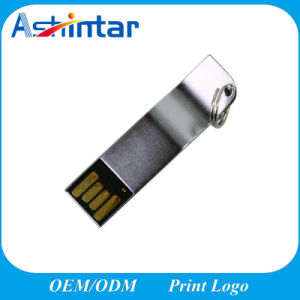 Металлический брелок USB флэш-накопитель Mini USB флэш-накопитель