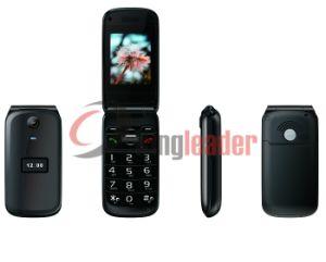 Dual-Screen cuatribanda Senior Flip Phone (W27).